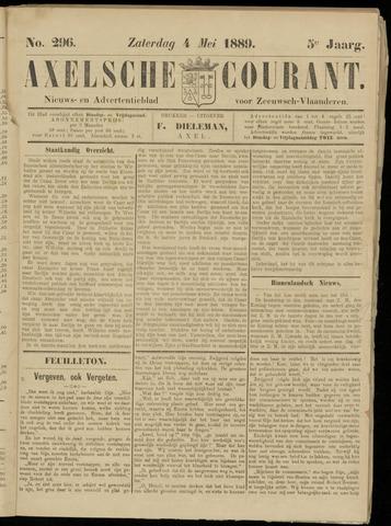 Axelsche Courant 1889-05-04