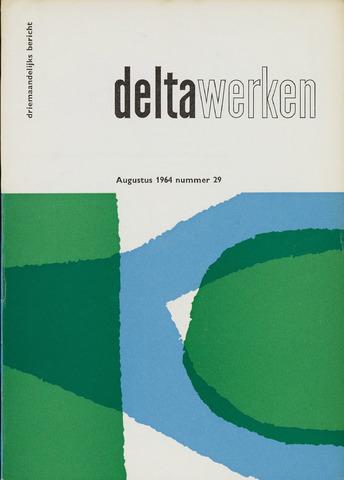 Driemaandelijks bericht Deltawerken 1964-08-01