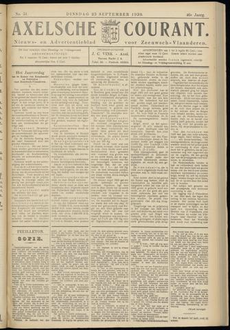 Axelsche Courant 1930-09-23