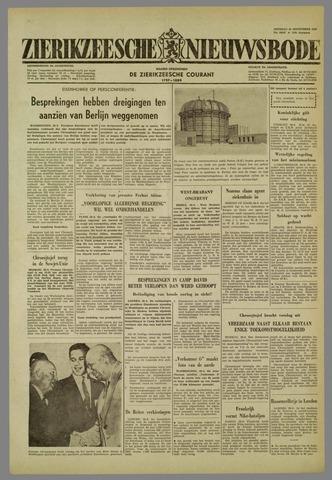 Zierikzeesche Nieuwsbode 1959-09-29