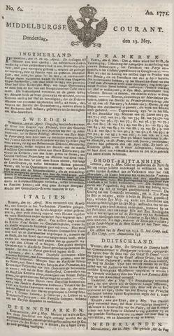 Middelburgsche Courant 1771-05-23