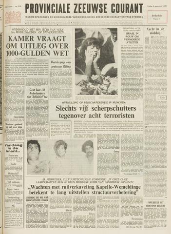 Provinciale Zeeuwse Courant 1972-09-08