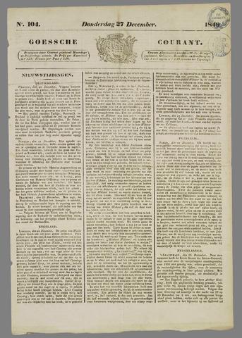 Goessche Courant 1849-12-27