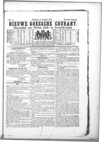 Nieuwe Goessche Courant 1874-01-06