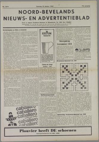 Noord-Bevelands Nieuws- en advertentieblad 1969-10-25