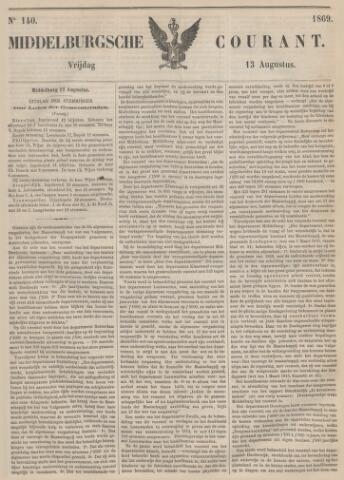 Middelburgsche Courant 1869-08-13