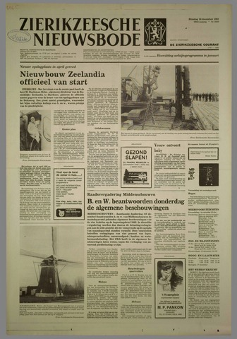 Zierikzeesche Nieuwsbode 1982-12-14