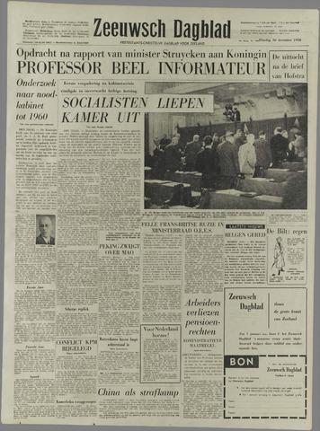 Zeeuwsch Dagblad 1958-12-16