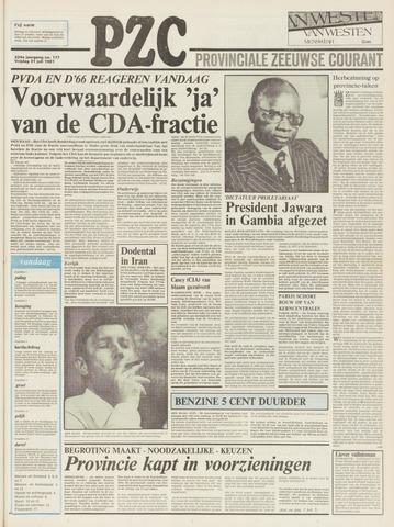 Provinciale Zeeuwse Courant 1981-07-31