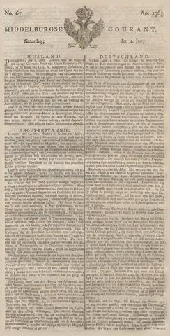 Middelburgsche Courant 1763-06-04