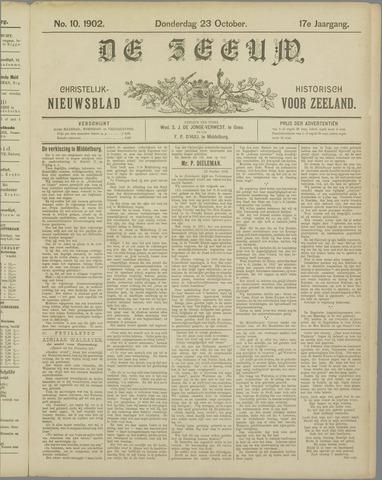 De Zeeuw. Christelijk-historisch nieuwsblad voor Zeeland 1902-10-23