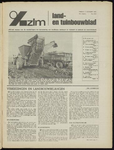 Zeeuwsch landbouwblad ... ZLM land- en tuinbouwblad 1972-11-17