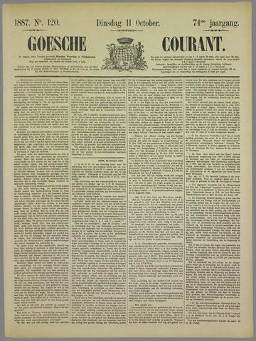 Goessche Courant 1887-10-11