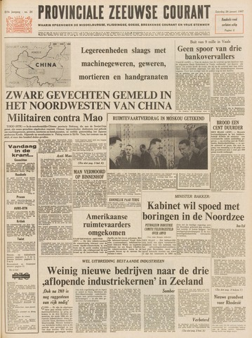 Provinciale Zeeuwse Courant 1967-01-28