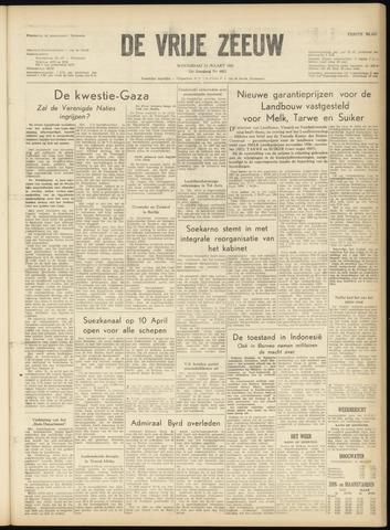 de Vrije Zeeuw 1957-03-13