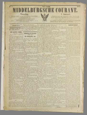 Middelburgsche Courant 1912