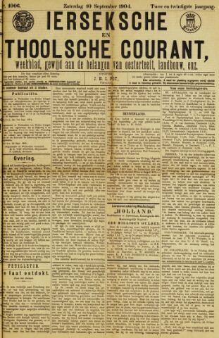 Ierseksche en Thoolsche Courant 1904-09-10