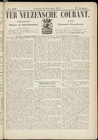 Ter Neuzensche Courant. Algemeen Nieuws- en Advertentieblad voor Zeeuwsch-Vlaanderen / Neuzensche Courant ... (idem) / (Algemeen) nieuws en advertentieblad voor Zeeuwsch-Vlaanderen 1877-11-10