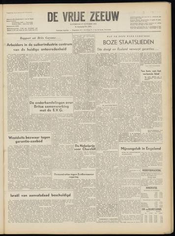 de Vrije Zeeuw 1953-10-17