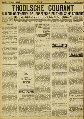 Ierseksche en Thoolsche Courant 1934-03-16