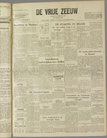 de Vrije Zeeuw 1959-02-23