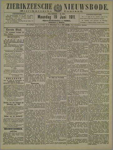 Zierikzeesche Nieuwsbode 1911-06-19