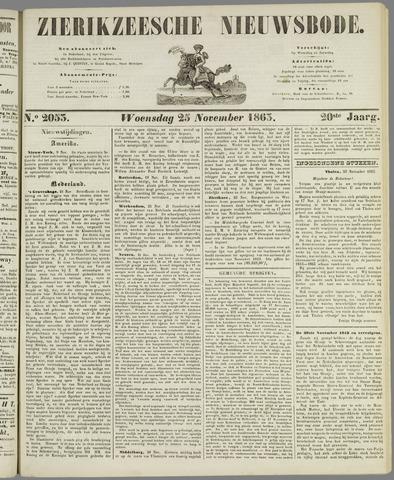 Zierikzeesche Nieuwsbode 1863-11-25