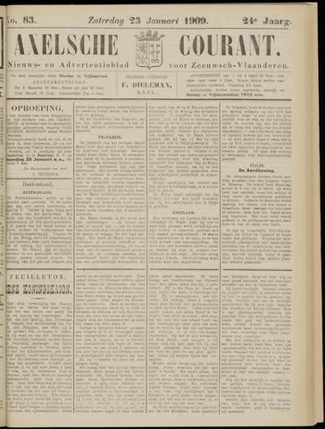 Axelsche Courant 1909-01-23
