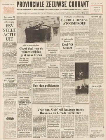 Provinciale Zeeuwse Courant 1966-04-29