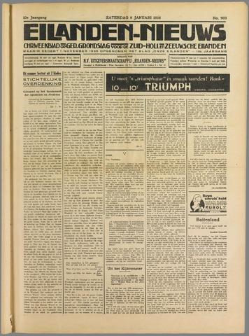 Eilanden-nieuws. Christelijk streekblad op gereformeerde grondslag 1938-01-08
