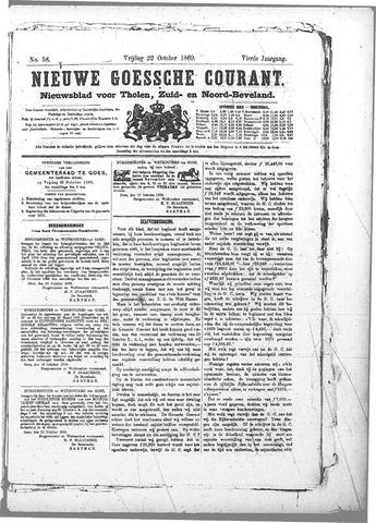 Nieuwe Goessche Courant 1869-10-22