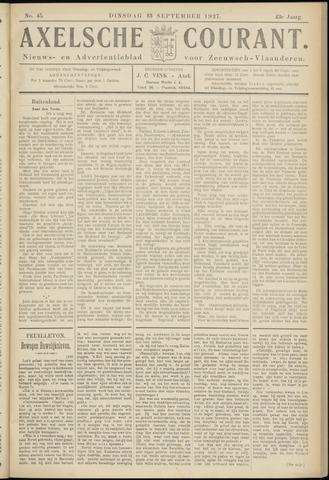 Axelsche Courant 1927-09-13