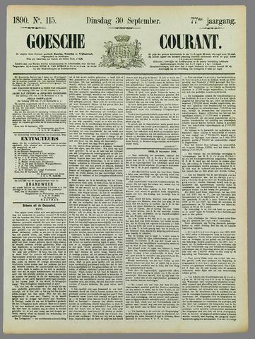 Goessche Courant 1890-09-30
