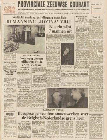 Provinciale Zeeuwse Courant 1967-11-18