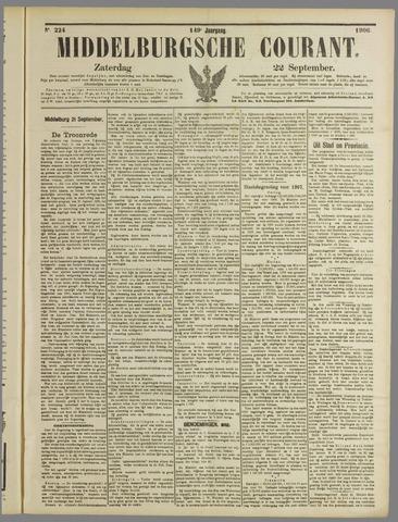 Middelburgsche Courant 1906-09-22