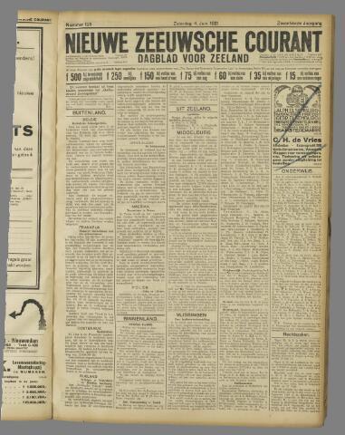 Nieuwe Zeeuwsche Courant 1921-06-04