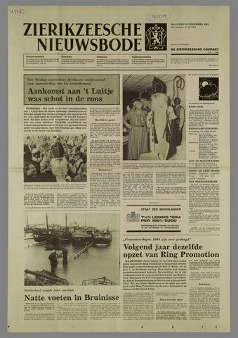 Zierikzeesche Nieuwsbode 1984-11-26