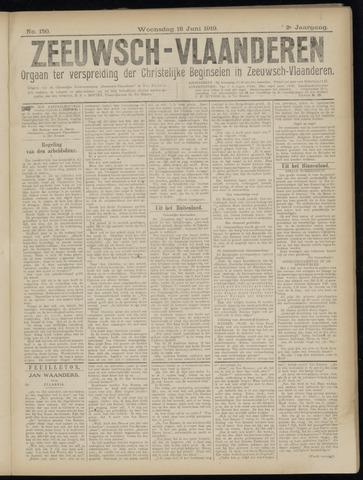 Luctor et Emergo. Antirevolutionair nieuws- en advertentieblad voor Zeeland / Zeeuwsch-Vlaanderen. Orgaan ter verspreiding van de christelijke beginselen in Zeeuwsch-Vlaanderen 1919-06-18