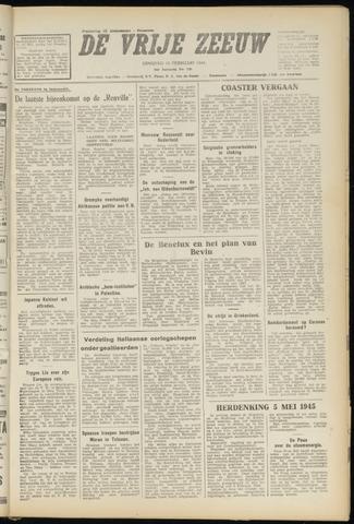 de Vrije Zeeuw 1948-02-10