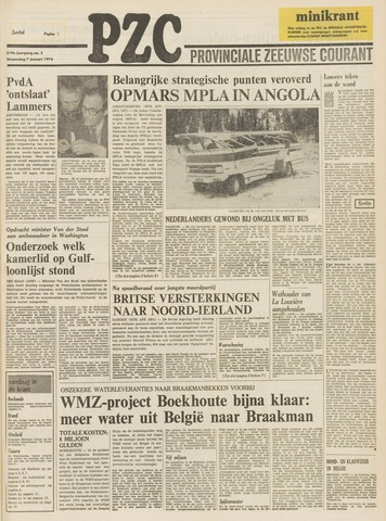 Provinciale Zeeuwse Courant 1976-01-07