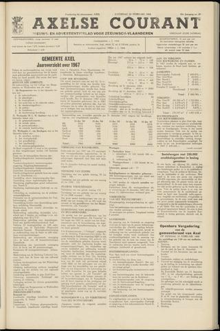 Axelsche Courant 1968-02-10