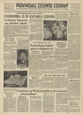 Provinciale Zeeuwse Courant 1961-02-14