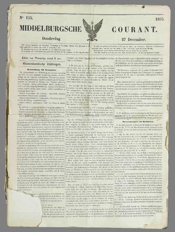 Middelburgsche Courant 1855-12-27