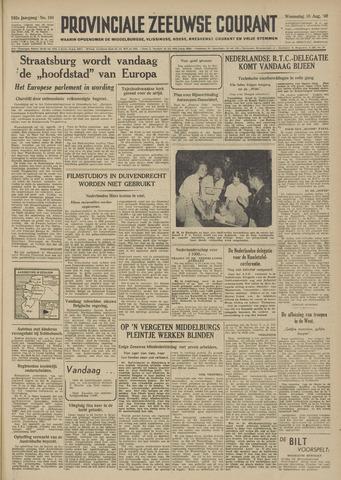 Provinciale Zeeuwse Courant 1949-08-10