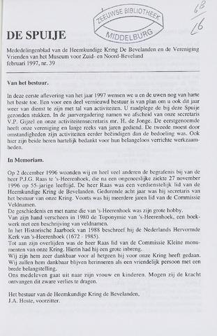 De Spuije 1997-02-01