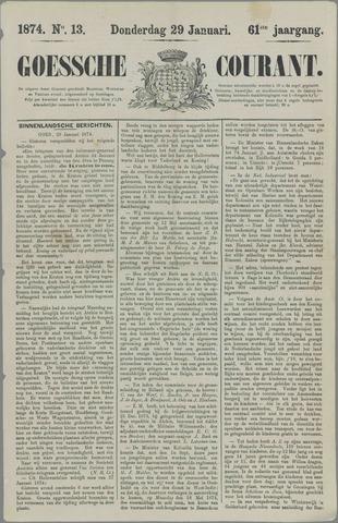 Goessche Courant 1874-01-29