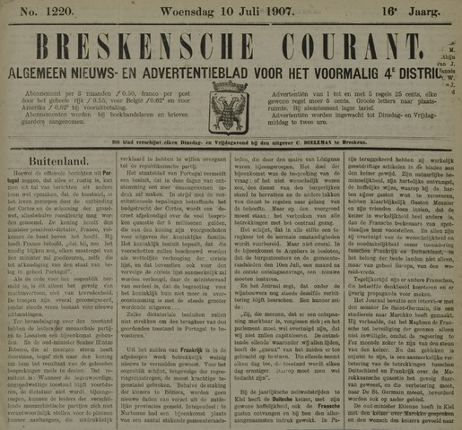 Breskensche Courant 1907-07-10