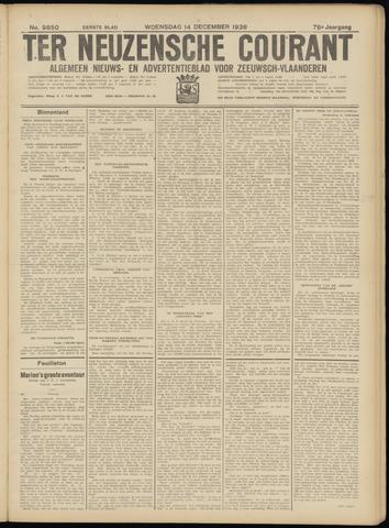 Ter Neuzensche Courant. Algemeen Nieuws- en Advertentieblad voor Zeeuwsch-Vlaanderen / Neuzensche Courant ... (idem) / (Algemeen) nieuws en advertentieblad voor Zeeuwsch-Vlaanderen 1938-12-14