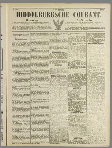 Middelburgsche Courant 1906-11-28