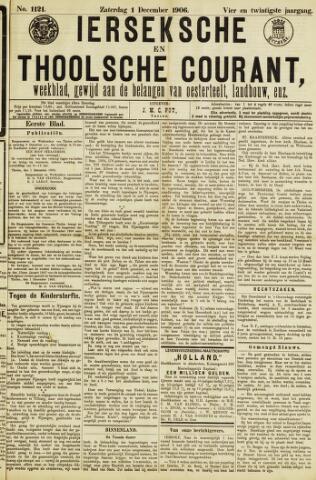 Ierseksche en Thoolsche Courant 1906-12-01